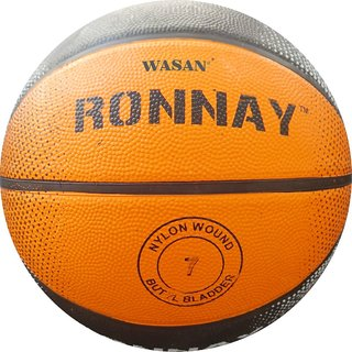 Wasan Ronnay Rubber Basketball Size 7 (12 Years and Above)