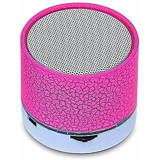 Mini  LED Bluetooth  Multimedia Disco Speaker (Assorted Color)