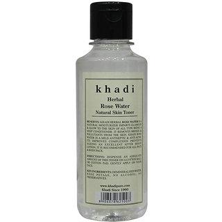 Khadi Herbal Rose Water - 210ml