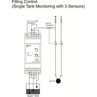 GIC Water Level Controller 240V on