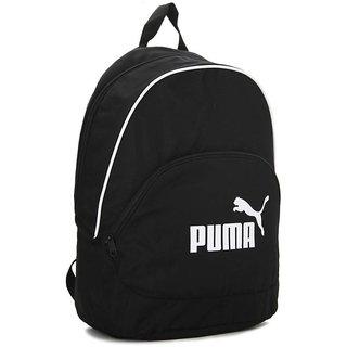 Puma White Door Black Backpack Bag