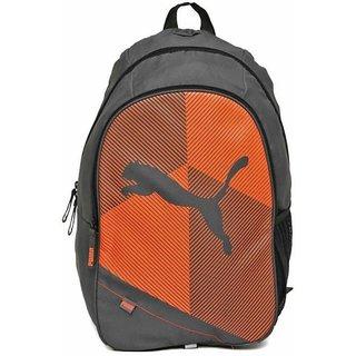 Puma Orange Echo Plus Backpack Bag