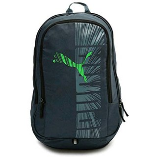 Buy Puma Graphic Blue-Green Backpack Bag Online - Get 69% Off 3afca1114c3a2