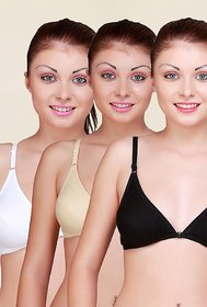 Front Open Bra Pack of 3