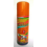 Hair Color Spray - Beautiful Orange Effect - Easy to Remove - Net Content 125ml