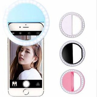Selfie Ring Light 36 LED Flash/Best Prop/Accessories/Portable for Mobile iPad Laptop Camera Photography Video - Light