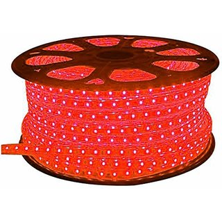 Ever Forever 25 Meter Rope Light / Waterproof LED Strips Red