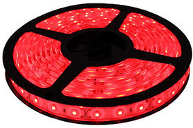 Ever Forever Self Adhesive LED Strip Light (Red) 5 Meter Roll with LED Driver