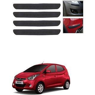 Kunjzone Car Bumper Guard Protector Color Black For Hyundai Eon