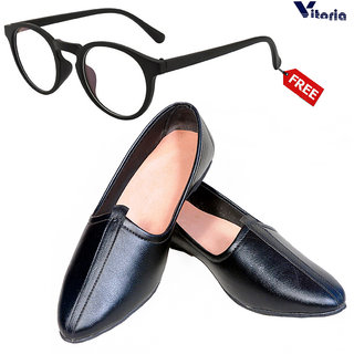 Vitoria Stylish Jutti With Free Fashionable Unisex Sunglasses Combo
