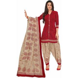 Miraan Women's Cotton Unstitched Dress Material  ( SG1239 )