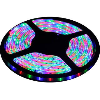 Ever Forever Self Adhesive LED Strip Light (RGB) 5 Meter Roll with LED Driver