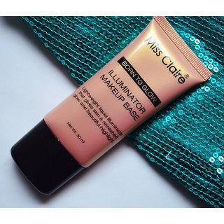Born To Glow Makeup Base Illuminator/Highlighters-02 Free 2 Lip Liner( Assorted)