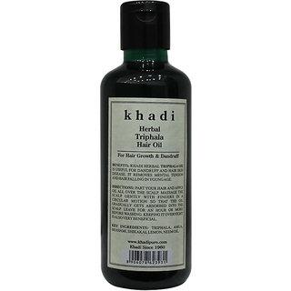 Khadi Herbal Triphala Hair Oil - 210ml