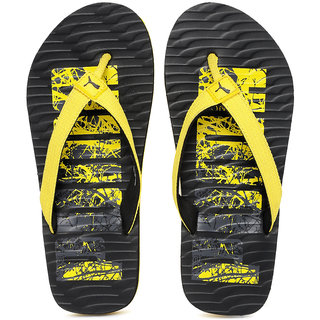1b500af28 Buy Puma Unisex Yellow Black Printed Miami Fashion DP Flip-Flops ...