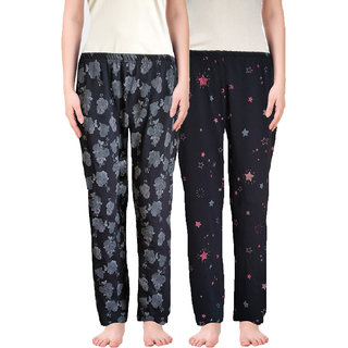 pajama for women combo pack (Combo Pack of 2) (Combo 2) (Small)