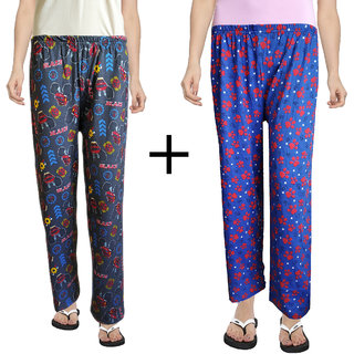 pajama for women combo pack (Combo Pack of 2) (Color 4) (Small)