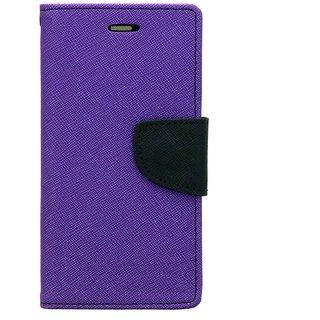Mercury Diary Fancy Wallet Flip Case Cover for Oppo A3s - Purple