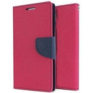 newest ed7c0 24385 Mercury Diary Fancy Wallet Flip Case Cover for Xiaomi Mi Y2 - Pink