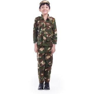 Fancydresswale  Army Dress 3-4 Years