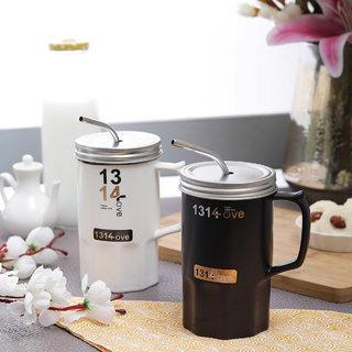 Brine Happy Coffee Time 600 ml Mug Set - Set of 2