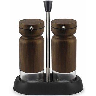 Home Puff Metal Nested Oil Dispenser  Oil Pourer Bottle Leak Proof Front Nozzle 2 PC Set, Rusty Copper, 335ml