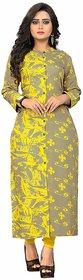 Vaikunth Fabrics Kurti In Multicolor And Rayon Fabric Printed Kurti  For Womens VB-KU-192