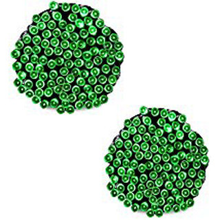 Ever Forever LED String Light in Green Color 9-10 Meter Long with Changer (Pack of 2)