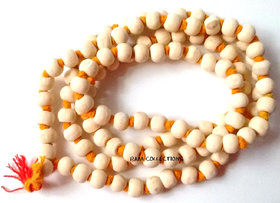 HINDU JAPA MANTRA TULSI MALA 108+1 BEADS RARE FOR PRAYER YOGA MEDITATION ROSARY