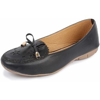 Bapu Beta Women's Leather Loafers Comfort Slip on Flats Shoes