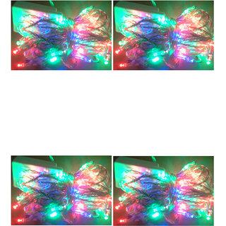 Ever Forever LED Serial Light in Multi Color 3.5-4 Meter Long (Pack of 4)