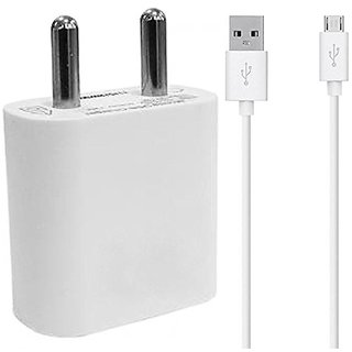 Vivo Y 69 Compatible 2 AM Single Port USB Fast Wall Charger with 1.5 Meter High Performance Data Cable by S4