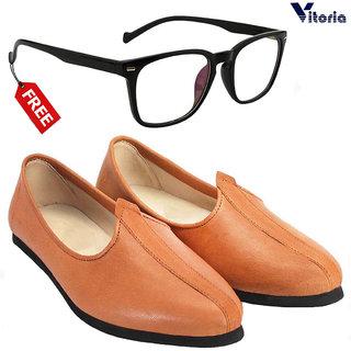 Vitoria Stylish Jutti With Free Fashionable Unisex Sunglasses Combo