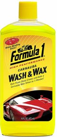 Imported Formula 1 Carnauba Wash  Wax Car Shampoo - 473 ML (Made in USA)