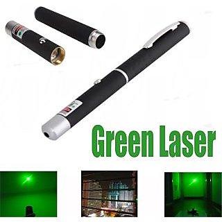 2 in 1  Green Laser Pointer Light Pen Visible Beam High Power Lazer