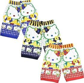 Jisha Fashion (Junior) cotton Bermuda set (Pack of 3)