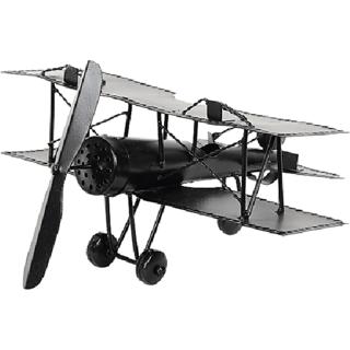 Desi Karigar Wrought Iron Jet Plane Miniature