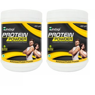 Zindagi Adult Protein Powder - Whey Protein Powder - Helath Supplement - Nutrition Bar (Pack Of 2)