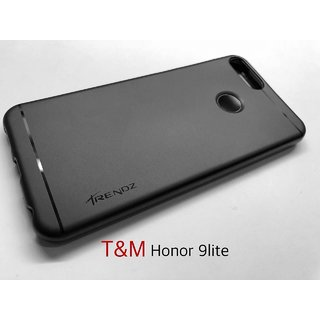 TM Trends Soft Silicone Silicon Back Cover Back Case for Huawei Honor 9 Lite With GST Paid Bill
