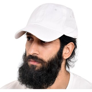 Buy Fashlook Classic White Cap For Men Online - Get 70% Off 878f84b6812
