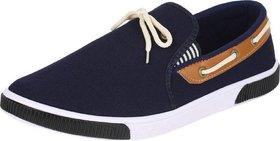 Weldone Men's Canvas Casual Sneakers