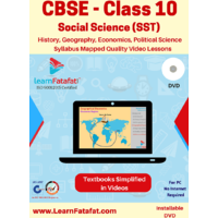 CBSE Class 10 Social Science Educational Video Course DVD