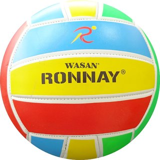 Wasan Ronnay Volleyball Multicolour Size 5 - 12 Years And Above