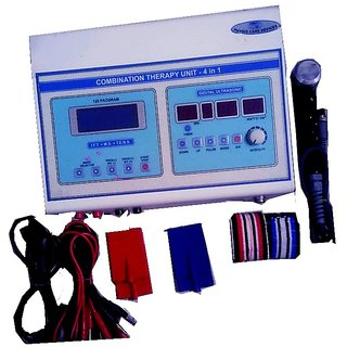 Physiotherapy Combo Machine (IFT+TENS+MS+US)
