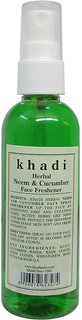 Khadi Herbal Neem  Cucumber Face Freshener - 100ml