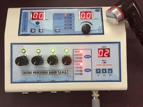 Micro Processor based Combo Of Electrotherapy  Ultrasound Therapy Machine