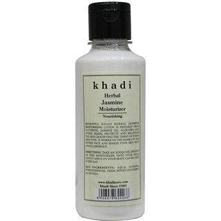 Khadi Herbal Jasmine Moisturizer - 210ml