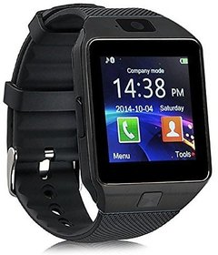 DZ09 Black Touch Screen Bluetooth Mobile Phone Wrist Watch With Camera/Sim