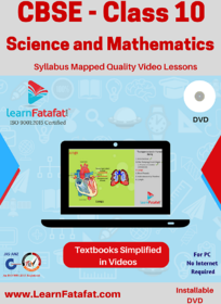 CBSE Class 10 Science and Mathematics Learning Video Course DVD  LearnFatafat