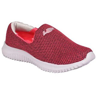 Lancer Comfortable Pink Color Loafers For Ladies